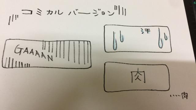 冷えピタ 作り方 シュールバージョンデザイン画画像